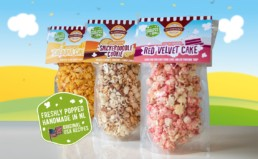 Allenbrands popcorn Product Display