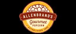 Allenbrands Gourmet Popcorn Logo